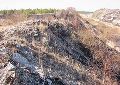 Diktüoneemakiltkivi fosforiidimaal / Phosphate rock mining area in Estonia World Wetlands Day, World Water Day, Wild West, Waterfall, Mountains, Rock, Travel, Outdoor, Outdoors