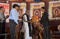 Paavan Solanki with Saint Sri Morari Bapu