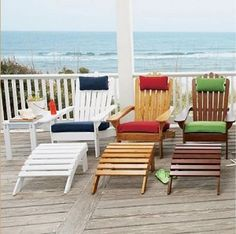 Cheap Adirondack Chair Cushions - Home Design and Decor Ideas Adirondack Chair Cushions, Adirondack Chairs For Sale, Plastic Adirondack Chairs, Wooden Dining Room Chairs, Scandinavian Dining Chairs, Desk Chairs, Side Chairs, Pool Patio Furniture, Outdoor Furniture Sets
