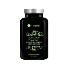 Tired of aches and pains in your joints? Relief promotes healthy, flexible joints with its highly effective Glucosamine and Chondroitin Sulfate Formula. Promotes healthy, flexible joints Addresses all aspects of joint function Glucosamine & chondroitin sulfate formula Strengthens cartilage in the joints