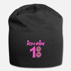 2002 Lustig Geburtstag Geschenkidee Das ist eine lustige T-Shirt zum Geburtstag. Donut pink 18 Jahre mädchen T-Shirt Design T Shirt Designs, Beanie, Bunt, Fashion, Funny T Shirts, Gifts, Kids, Moda, Fashion Styles