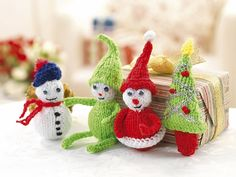 Ravelry: Christmas Mascots pattern by Susie Johns
