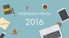 """Web Design Trends! Web design trends change rapidly. They come and go. Websites today follow very different trends than they did just a year ago. As web designers, it's helpful to know what the current and upcoming trends are. It can help you stay ahead of the competition and it can help you meet your client's needs. Keep in mind that """"trend"""" doesn't necessarily mean """"new."""" • Material Design • Typography • Mobile UX • Mobile Layouts • More Imagery, Less Text • Tiles Replaced with Cards"""