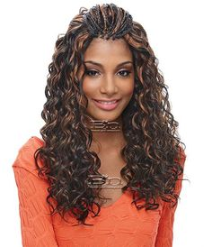 Janet Collection Janet Collection Noir FRENCH DEEP CURL BRAID