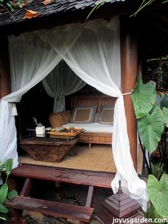 Feeling like a little virtual trip to a Balinese style garden? This post, complete with a video An Enchanted Balinese Garden at the end, will whisk you off for a peaceful journey adorned along the way with magical garden art. The Sacred Space is just a short ten minute drive down the coast from my home... Read more
