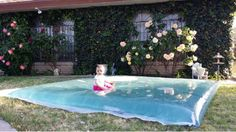 Wasserkissen für den Garten