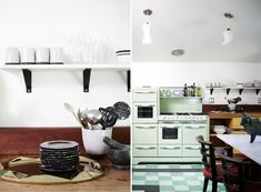 Nate Berkus in his Los Angeles Home | Rue  I just love that stove!!