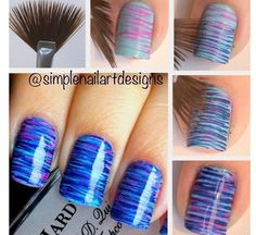 Awesome DIY nails pretty cool easy awesome design