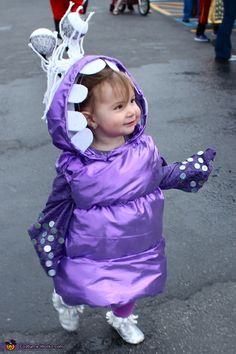 Boo from Monsters Inc Costume - 2013 Halloween Costume Contest via @costumeworks