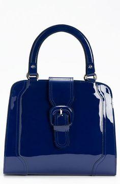 MARNI - Blue Pantent Handbag