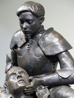 「statue jeanne d arc」的圖片搜尋結果 Joan D Arc, Saint Joan Of Arc, St Joan, Jeanne D'arc, Medieval, Living Statue, French History, Eva Marie, Cultural