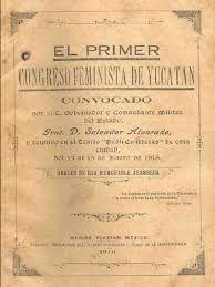 mujer del mediterraneo: Celebramos cien años del primer Congreso feminista...