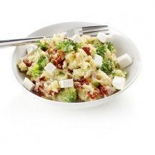 Broccolistamppot met tomaat en feta (budgetrecept van Boodschappen)