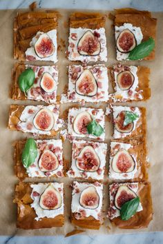Fig, Ricotta and Prosciutto Phyllo Tart — Madeline Hall