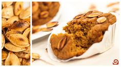 Pumpkin Banana Muffins [Recipe of the Week] - Blendtec Pumpkin Banana Muffin Recipe, Spice Muffin Recipe, Pumpkin Banana Bread, Muffin Recipes, Pumpkin Oatmeal, Yummy Treats, Sweet Treats, Yummy Food, Blendtec Recipe