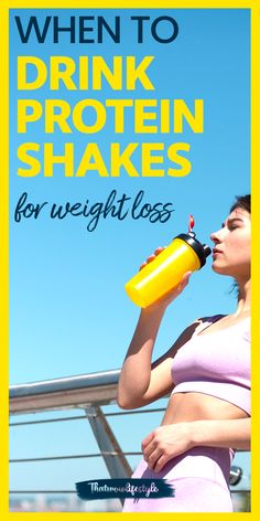 If you're looking to add protein shakes in your diet, this guide on when to drink protein shakes for weight loss will surely come in handy. #proteinshakes #proteinshakesforweightloss #weightlossdiet #diettips Lose Weight In A Month, Lose Weight At Home, Trying To Lose Weight, Diet Plans To Lose Weight, How To Lose Weight Fast, Losing Weight, Ideal Protein Shakes, Weight Loss Protein Shakes, Weight Loss Goals
