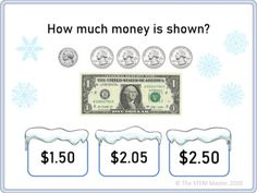 Counting Money Christmas Winter Game for Google Classroom Distance Learning Counting Money, Winter Games, Google Classroom, Math Games, Distance, Learning, Christmas, Xmas, Studying