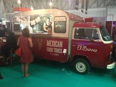 El Burro - Food Truck - Love the entire brand and now to see the style of truck they chose solidifies they just understand good branding & have style.