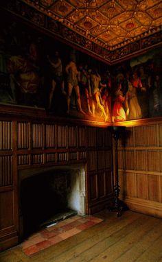 The Wolsey Closet, The Georgian Rooms, Hampton Court Palace