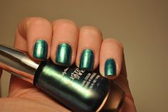 Sally Hansen Lustre Shine in 'Scarab' by TartanHearts, via Flickr