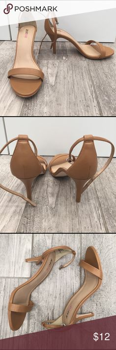 Just Fab Heels Worn once. Great condition! JustFab Shoes Heels