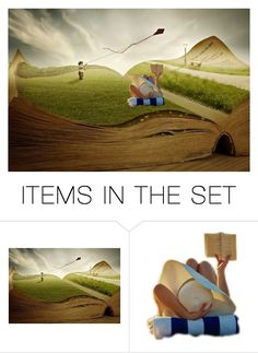 """At the Park"" by champagne-bubbles ❤ liked on Polyvore featuring art"