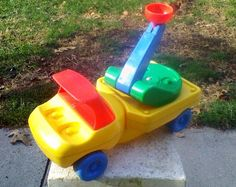 Little Tikes Cherry Picker Truck And Tow 1985 Vintage #LittleTikes