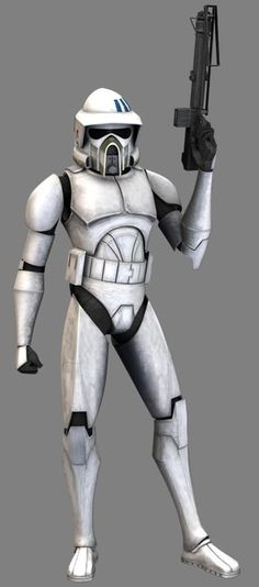 Razor is an Advanced Recon Force trooper who served in the Grand Army of the Republic during the Clone Wars. He participated in the Battle of Ryloth with General Mace Windu. Razor was one of the two troopers who were led to Cham Syndulla's base.