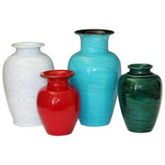 Collection Vintage Italian Bitossi Flavia Vases