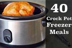 If you dread dinner time, you will want to take 1 hours and make 5 slow cooker freezer meals. This will save you so much time and money in the kitchen!