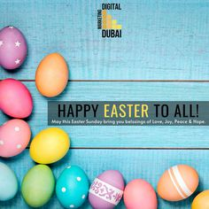 May this Easter Sunday bring you blessings of Love, Joy, Peace & Hope. HAPPY EASTER TO YOU !! #easter #happyeaster #easterbunny #eastereggs #love #spring #stayhome #eastersunday #covid #bunny #pasqua #ostern #family #p #chocolate #easterdecor #quarantine #staysafe #art #eggs #instagood #happy #handmade #food #jesus #goodfriday #coronavirus #easteregg #stayathome #DDM #dubaidigitalmarketing #digitalmarketingdubai #dubaiseo #dubaiseoservices #digitalservices Happy Easter, Easter Bunny, Easter Eggs, Digital Marketing Services, Seo Services, Blessings, Dubai, Sunday, Bring It On