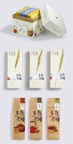 × siidcha tea packaging / #design