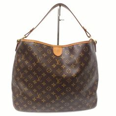 Louis Vuitton Signature Monogram Delightful Mm Leather Canvas Handbag Brown Tote Bag. Get one of the hottest styles of the season! The Louis Vuitton Signature Monogram Delightful Mm Leather Canvas Handbag Brown Tote Bag is a top 10 member favorite on Tradesy. Save on yours before they're sold out!