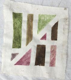 Masking Tape Shape Explorations - where nature art meets maths