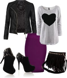 """edgey"" by delaura-puckett on Polyvore"