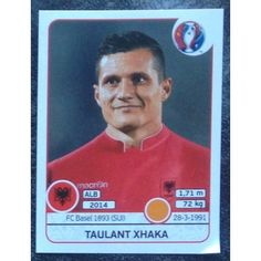 Football Soccer Sticker Panini UEFA Euro 2016 #82 Albania