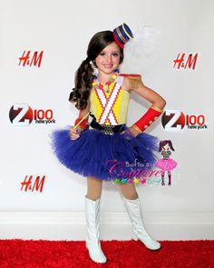 Katie Perry Toy Soldier inspired tutu costume