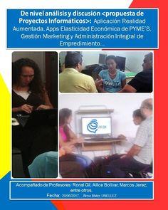 Jornada de orientación sobre proyectos informáticas, compartiendo saberes con estudiantes y colegas de la carrera #inginformatica #unellez #asesoría #tutoría #2017 #jlaya