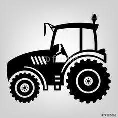 Wandtattoo Trecker Traktor Wandtattoo Illustrations