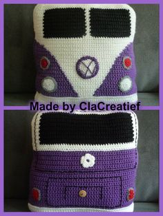 Love the color combination! Crochet Quilt, Crochet Cushions, Crochet Cross, Crochet Pillow, Crochet Squares, Crochet Home, Crochet Baby, Knit Crochet, Knitting Patterns