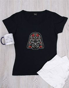 gifts: Personalised Floral Trooper Shirt! This feminine Star Wars-themed t-shirt is a great gift for the annual Star Wars Day. Personalised the clothing gift with the initials of the recipients. Place your order today for this Star Wars gift for her. Send it nationwide! Gifts For Her, Great Gifts, Star Wars Day, Shirt Outfit, T Shirt, Star Wars Gifts, Initials, Feminine, Floral