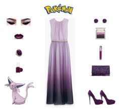 """Pokémon: Espeon Outfit"" by billsacred ❤ liked on Polyvore"