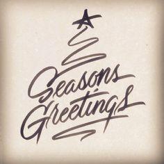 #seasonsgreetings #lettering #handlettering #cheesyscript