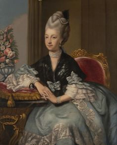 Charlotte Sophia of Mecklenburg-Strelitz (1744-1818) Queen of George III after Johann Zoffany