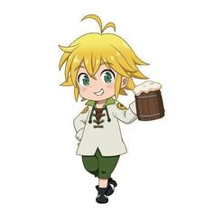 The Seven Deadly Sins Meliodas Chibi Manga, Cute Anime Chibi, Kawaii Anime, Manga Anime, Seven Deadly Sins Anime, 7 Deadly Sins, Madara Wallpaper, Sir Meliodas, Seven Deady Sins