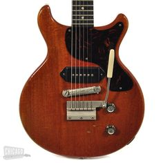 Gibson Les Paul Doublecut Cherry Red with Tremolo Prototype 1961