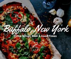 Our Loaded Thirsty Buffalo pizza has five different meats and a ton of veggie toppings - its our best dish to share with your friends!