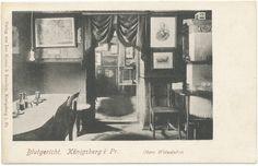 Königsberg (Pr.), Schloß, Obere Weinstuben im Blutgericht - 1894 - 1904