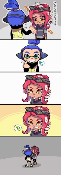 See more 'Splatoon' images on Know Your Meme! Splatoon Memes, Nintendo Splatoon, Splatoon 2 Art, Splatoon Comics, Video Game Art, Video Games, Pokemon, Super Smash Bros, Funny Games