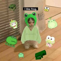 Cute Memes, Funny Memes, Baby Animals, Cute Animals, Pet Frogs, Frog Pictures, Gato Anime, Cat Icon, Frog Art